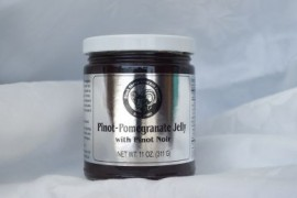 Pinot-Pomegranate Jelly with Pinot Noir